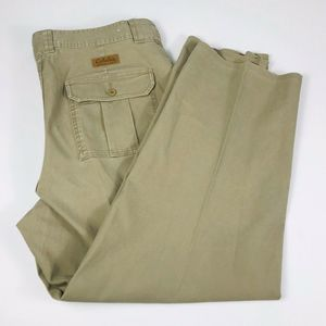 Cabelas Mens 38 x 29 7 Pocket Hiker Pants Beige
